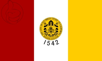 Bandera San Diego, California