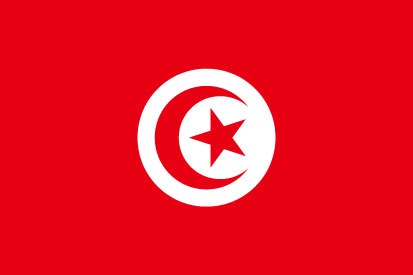 Bandera Tunisia