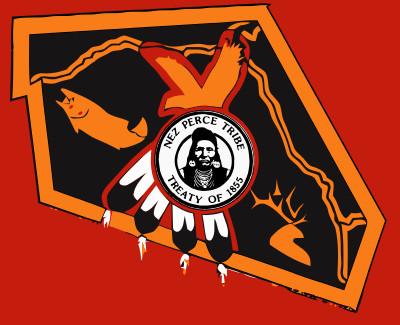 Bandera Nez Perce