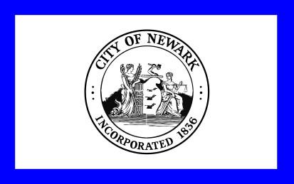 Bandera Newark, New Jersey