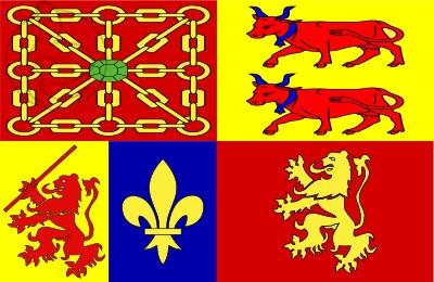Bandera Pirineos Atlánticos