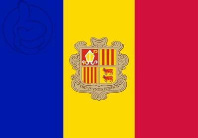 Bandera Andorre C/E