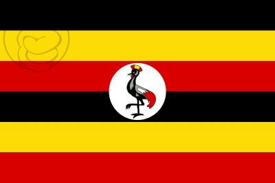 Bandera Ouganda