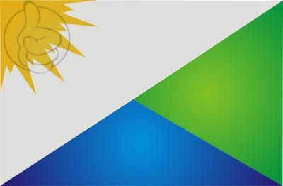 Bandera Vale do Paraíso, Rondônia