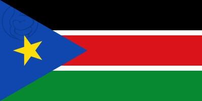 Bandera Sudán del Sur