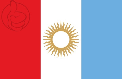 Bandera Provincia de Córdoba (Argentina)