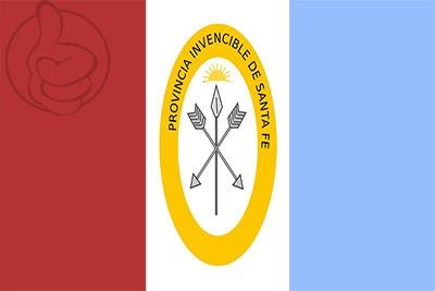 Bandera Provincia de Santa Fe