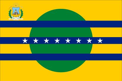 Bandera Estado de Bolívar