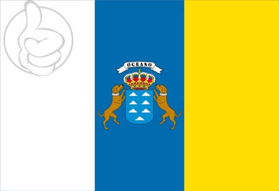 Bandera Canarias C/E