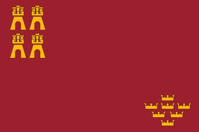 Bandera Région de Murcia