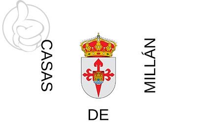 Bandera Casas de Millán