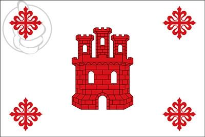 Bandera Aldea del Rey