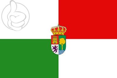 Bandera Santa Olalla del Cala