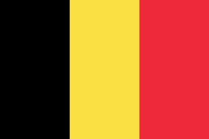 Bandera Belgio
