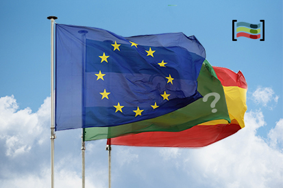 Bandera Pack de 3 banderas, UE + España + Com. Autónoma