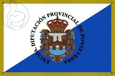 Bandera Province de Pontevedra