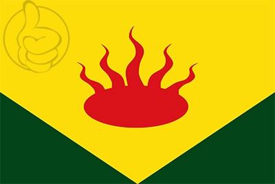 Bandera Vallfogona de Riucorb