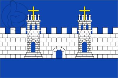 Bandera El Pla de Santa María