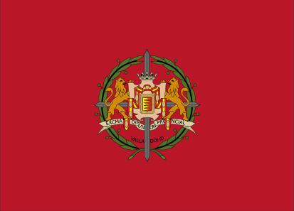 Bandera Province de Valladolid