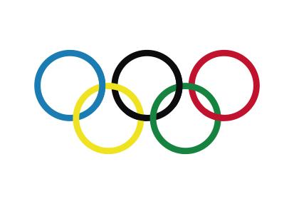 Bandera Olympic Rings
