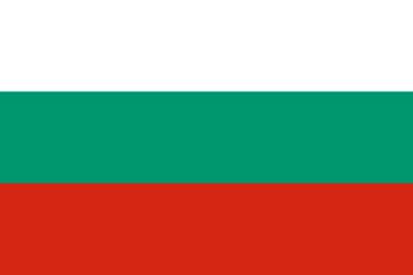 Bandera Bulgarie