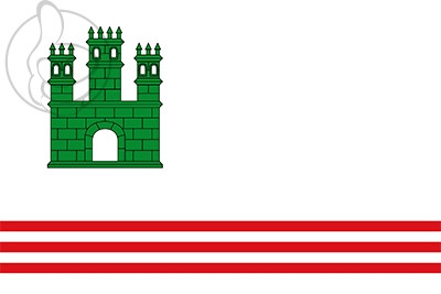 Bandera Sant Vicenç de Castellet