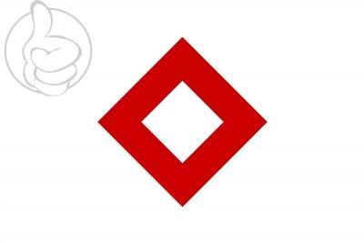 Bandera Cristal Rojo
