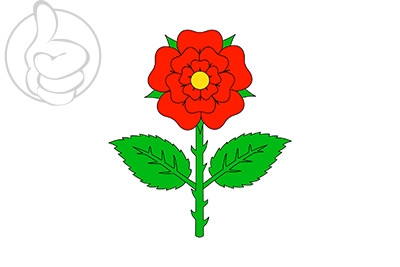 Bandera Santa María d\'Oló