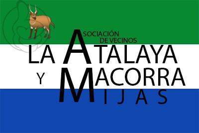 Bandera AA.VV La Atalaya y Macorra
