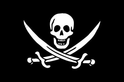Bandera Pirate jack rackham