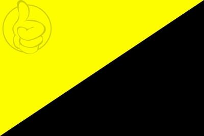 Bandera Anarcocapitalismo