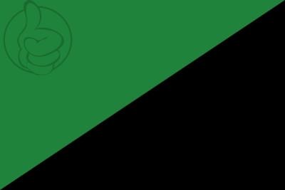 Bandera Anarquia Medioambiental