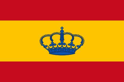Bandera Espanha iate