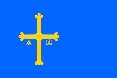 Bandera Principado de Asturias
