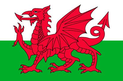 Bandera Galles