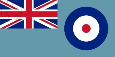 Bandera Royal Air Force