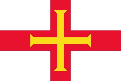 Bandera Guernsey