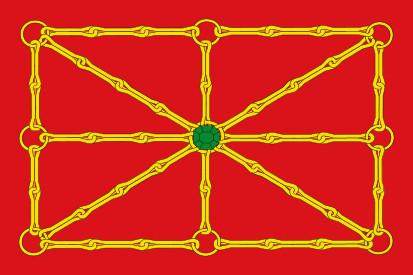 Bandera Estandarte de Navarra