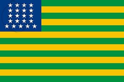 Bandera Estados Unidos de Brasil