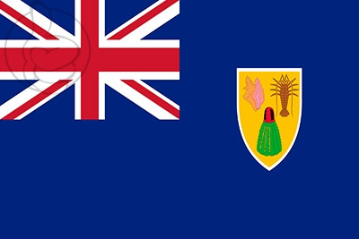 Bandera Islas Turcas y Caicos