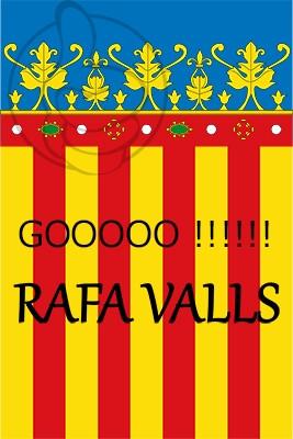 Bandera Go! Rafa Valls