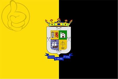 Bandera La Aldea de San Nicolás