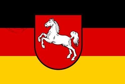 Bandera Baja Sajonia