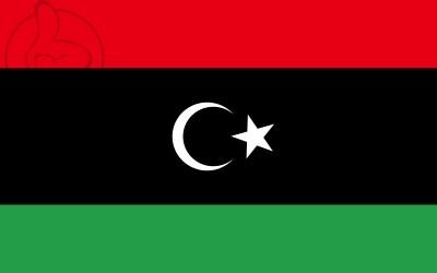 Bandera Libye