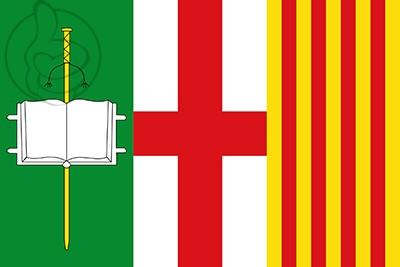 Bandera Les Franqueses del Vallès
