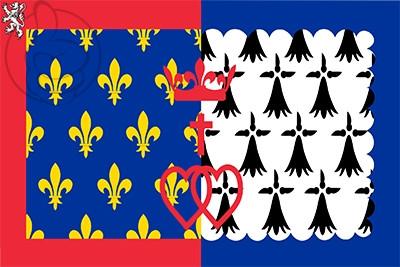 Bandera Países del Loira