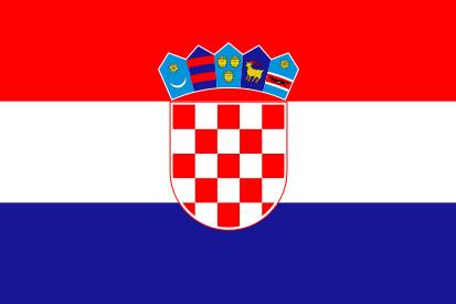 Bandera Croazia