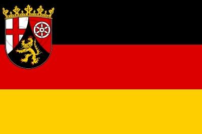 Bandera Rheinland-Pfalz