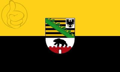 Bandera Sachsen-Anhalt