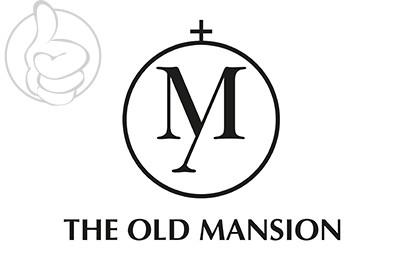 Bandera The Old Mansion con texto